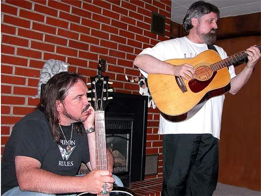 Deadwood in Deadwood 2005, W. Earl Brown and Paula Malcomson 2
