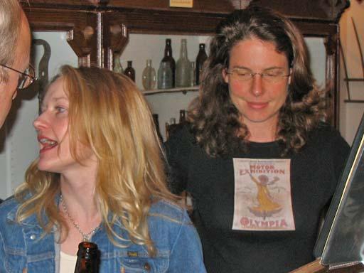 Deadwood in Deadwood 2005, Paula Malcomson and Robin Weigert