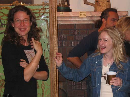 Deadwood in Deadwood 2005, Robin Weigert and Paula Malcomson