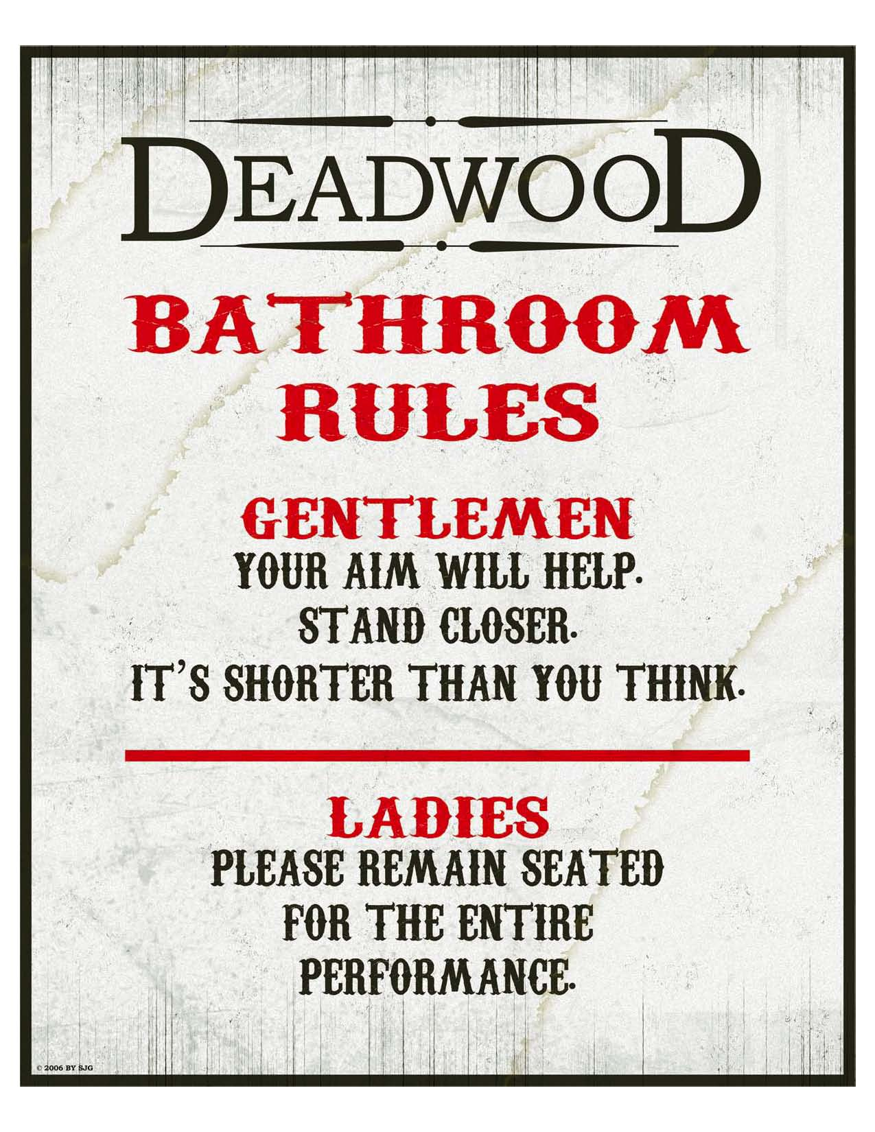 ThePokerDude's Party Posters   The Deadwood Chronicles